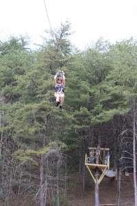 Ziplining in the Blue Ridge Mountains | Outdoor Adventures | Raft One