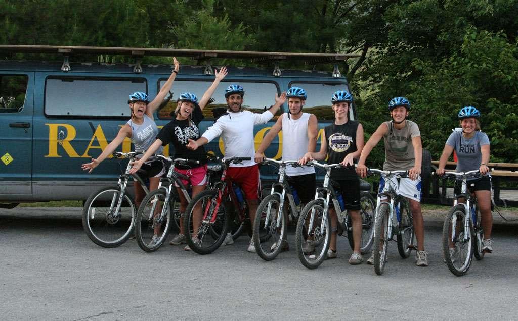 Mountain Biking Group 105