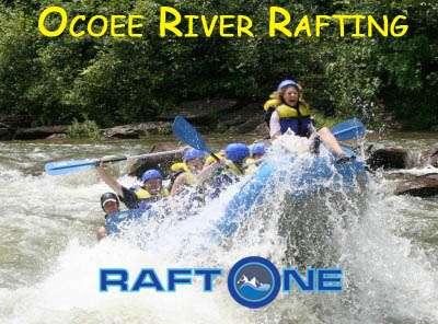 Ocoee rafting in Tennessee
