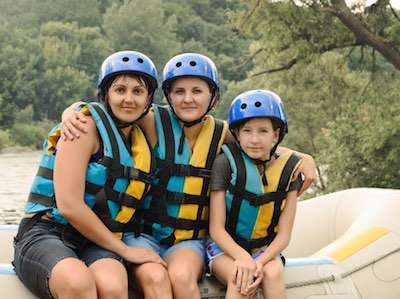Youth Group Whitewater Rafting on the Ocoee River | Raft One