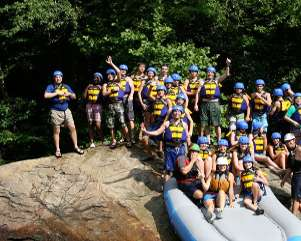 Overnight Youth Group Trip on the Ocoee River